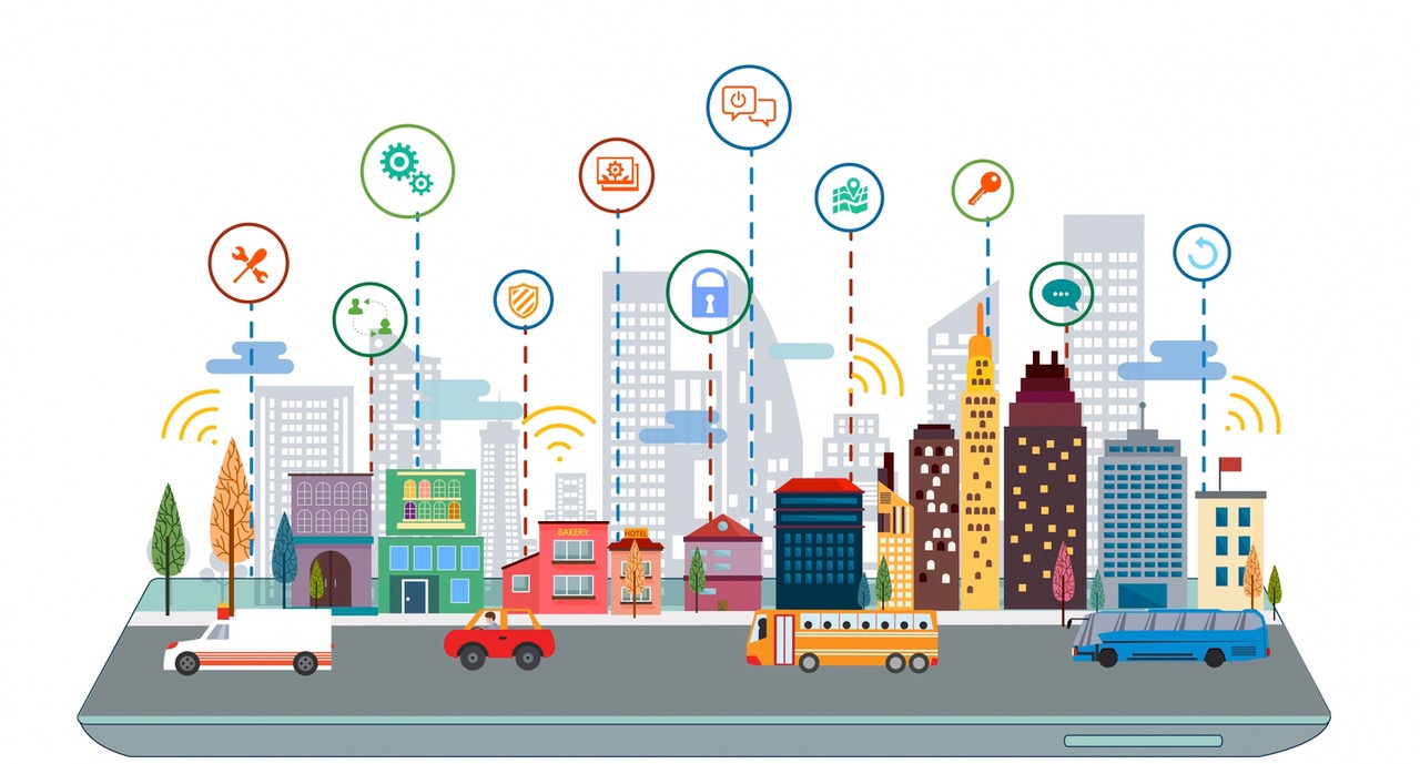 smart cities graphic